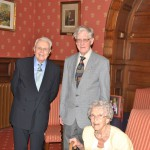 James with Ray and Joy Steadman-Allen