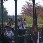 Trombone section - Consett May 2008