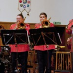 Trombone ensemble - Stockton October 2012