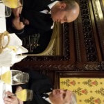 BM Corry and Deputy BM Justice discuss the programme at House of Lords December 2013