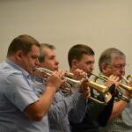 Back row cornets (II)