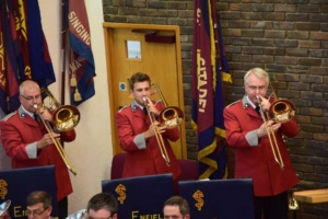Trombones in I will follow him